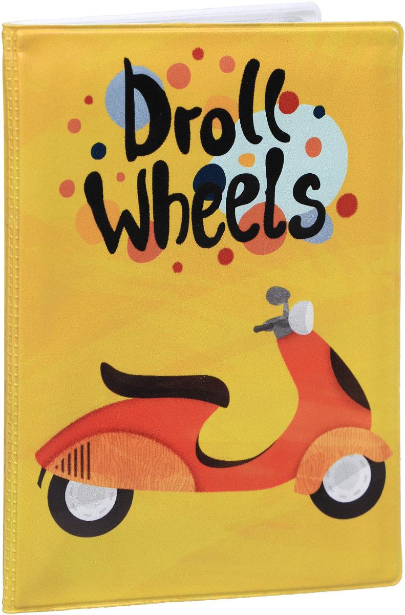 Обложка для автодокументов Kawaii Factory Droll Wheels, цвет: желтый. KW063-000061ПВХ (поливинилхлорид)Обложка для автодокументов Kawaii Factory Droll Wheels выполнена из качественного ПВХ.Модель оформлена оригинальным принтом. Внутри содержится блок из прозрачныхфайлов из мягкого пластика, которые защитят ваши документы от грязи и потертостей.