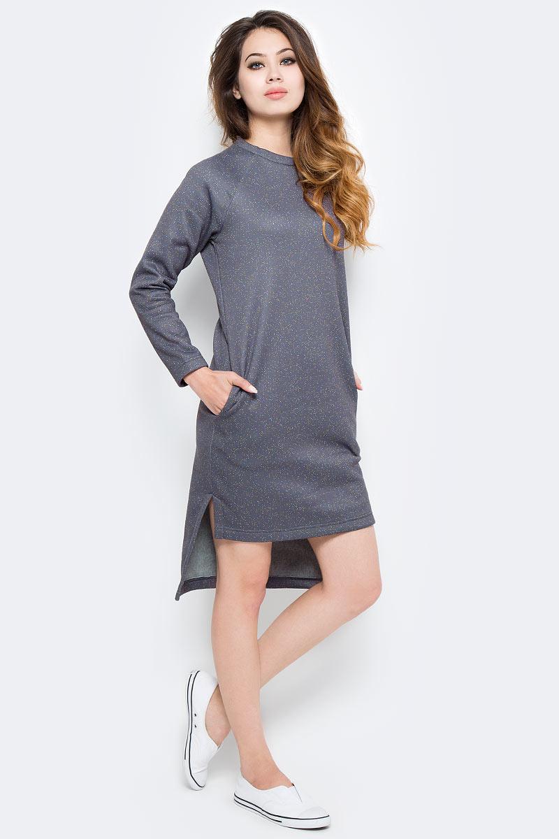 Купить Платье Kawaii Factory Конфетти, цвет: серый. KW177-000038. Размер S (40/42)