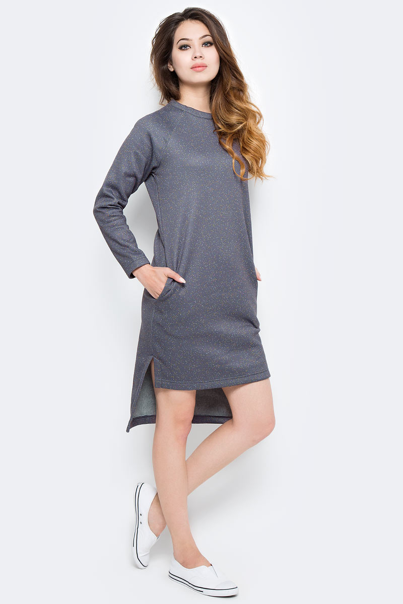 Платье Kawaii Factory Конфетти, цвет: серый. KW177-000038. Размер S (40/42)KW177-000038