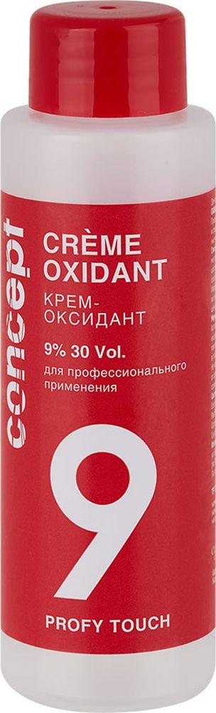 Сoncept Оксидант Profy Touch Крем-Оксидант 9%, 60 мл33934Крем-оксидант предназначен для работы с профессиональными крем-красками и средствами для осветления волос. Нежная кремовая консистенция обеспечивает максимально быстрое смешивание с красящим средством и наилучшую покрывающую способность, что гарантирует безупречное и равномерное окрашивание и максимально щадящее воздействие на волосы. Оксидант Сoncept profy touch oxidant используется для активации красящих основ Сoncept profy touch. Его уникальная профессионально разработанная формула позволяет с легкостью создать краску для волос с прекрасными покрывающими свойствами.Оксидант Сoncept profy touch oxidant выпускается в 5 концентрациях (1,5%, 3%6% 9% 12%) что делает его универсальным для любых техник окрашивания.При совмещении с красящей основой оксидант Сoncept profy touch oxidant образует красящую смесь мягкой кремообразной консистенции, которая легко и равномерно распределяется по поверхности волос, не течет и обеспечивает стойкое равномерное окрашивание. Продукт также подходит для всех видов осветления волос и обеспечивает прекрасное удаление естественного пигмента локонов.С оксидантом Сoncept profy touch oxidant процесс окрашивания будет легким и комфортным, а приятный аромат без сильного запаха аммиака сделает его еще более приятным.