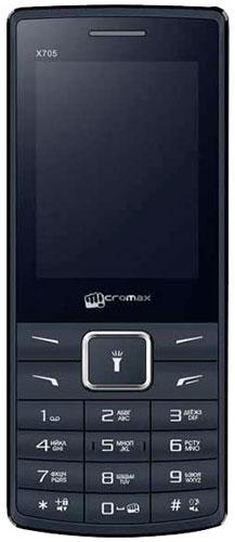 Micromax X705, Black - Мобильные телефоны