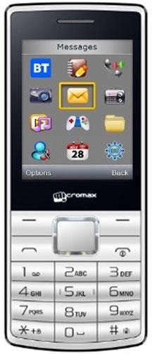 Micromax X705, WhiteT012078Micromax X705 - сотовый телефон в эргономичном корпусе. В распоряжении пользователя все необходимые функции и возможности.Наслаждайтесь ярким цветным изображением на крупном 2,4-дюймовом экране телефона Micromax X705.Слушайте самые горячие музыкальные хиты и любимые мелодии с помощью встроенного аудиоплеера. Или переключитесь на FM-радио. Оставаться всегда на связи и использовать лучшие предложения на рынке мобильных услуг позволит поддержка двух SIM-карт.Телефон сертифицирован EAC и имеет русифицированную клавиатуру, меню и Руководство пользователя.