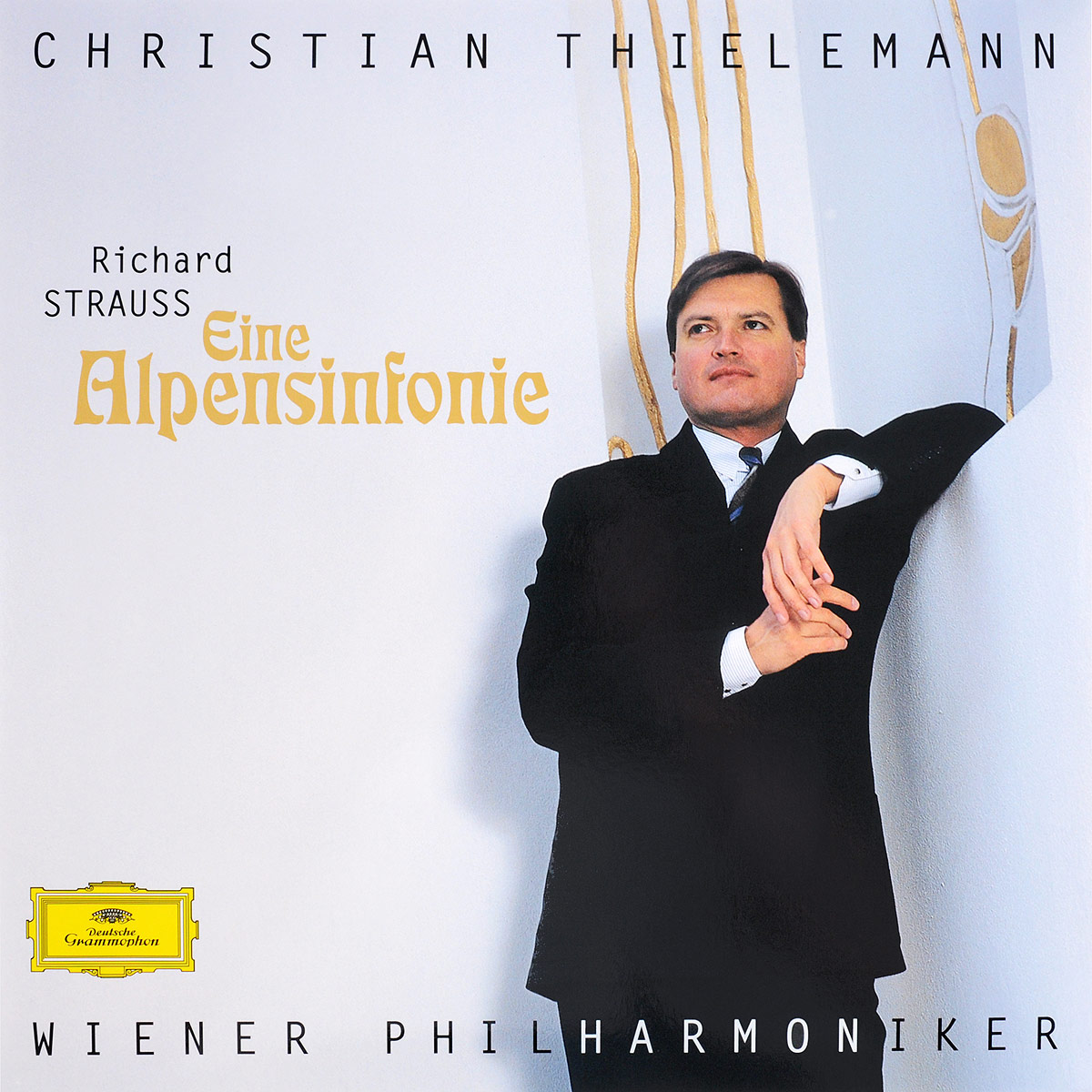 Christian Thielemann. Richard Strauss. Eine Alpensinfonie (LP)