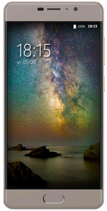 BQ 5201 Space, Gray85953278BQ представляет самый мощный смартфон в линейке компании - BQ-5201 Space.Главные достоинства смартфона это мощнейший 8 ядерный процессор MT6753 и 3 Гб оперативной памяти. Такое сочетание позволяет работать одновременно в нескольких приложениях, запускать новейшие игры, графические редакторы и самые современные программы. Заоптимизацию этих процессов отвечает новейшая операционная система Android 7.0, эффективно использующая все возможности устройства.Из инновационных технологий стоит отметить поддержку смартфоном технологии VoLTE обеспечивающую более качественную голосовую связь, а также сканер отпечатков пальцев, удобно расположенный на фронтальной части смартфона. Установленный аккумулятор емкостью 4000 мАч, это гарантия долгой работы смартфона даже в режиме разговора. За скоростной интернет серфинг отвечает модуль LTE позволяющий использовать сети четвертого поколения.Еще одним неоспоримым преимуществом BQ-5201 Space является наличие двух камер с отличным разрешением. Фронтальная 13-мегапиксельная оптика подходит для селфи, видеозвонков и трансляций. Основная камера с разрешением 16 Мпикс, это практически профессиональный фотоаппарат в вашем кармане, макро и панорамная съемка, портреты и пейзажи, все эти режимы доступны вам в высоком качестве.Экран, созданный с применением технологии IPS, позволяет просматривать мультимедийные файлы в потрясающей цветовой гамме с идеальным контрастом. Стекло 2.5 D – дает дополнительную ударостойкость при падениях, а также делает смартфон эргономичнее, добавляя сбалансированности внешнему виду.Телефон сертифицирован EAC и имеет русифицированный интерфейс меню и Руководство пользователя.