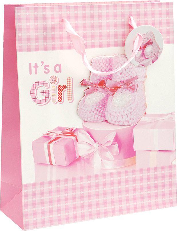 Пакет подарочный Белоснежка Наша малышка, 26 х 10 х 32 см1067-SB