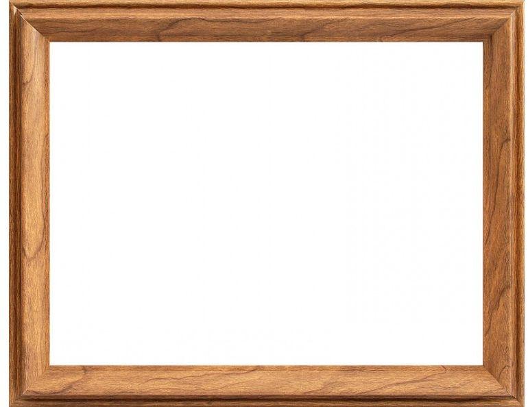 """Багетная рама Белоснежка """"Irma"""" изготовлена из пластика, окрашенного в коричневый цвет.  Багетные рамы предназначены для оформления картин, вышивок и фотографий.  Если вы используете раму для оформления живописи на холсте, следует учесть, что толщина подрамника больше толщины рамы и сзади будет выступать, рекомендуется дополнительно зафиксировать картину клеем, лист-заглушку в этом случае не вставляют."""
