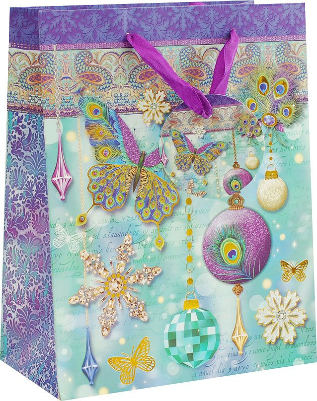 Пакет подарочный Белоснежка Волшебный праздник, 18 х 10 х 23 см1372-SB