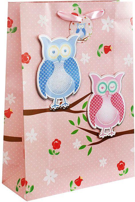 Пакет подарочный Белоснежка 3 совы на розовом, 18 х 8 х 24 см1412-SBПодарочный пакет Белоснежка, изготовленный из плотной бумаги, станет незаменимым дополнением к выбранному подарку. Для удобной переноски на пакете имеются две ручки. Подарок, преподнесенный в оригинальной упаковке, всегда будет самымэффектным и запоминающимся. Окружите близких людей вниманием и заботой, вручив презент в нарядном, праздничном оформлении.