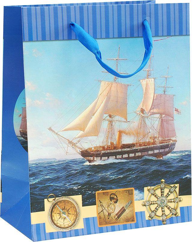 Пакет подарочный Белоснежка Парусник, 18 х 10 х 23 см пакет подарочный белоснежка мужские аксессуары 14 х 7 х 17 см