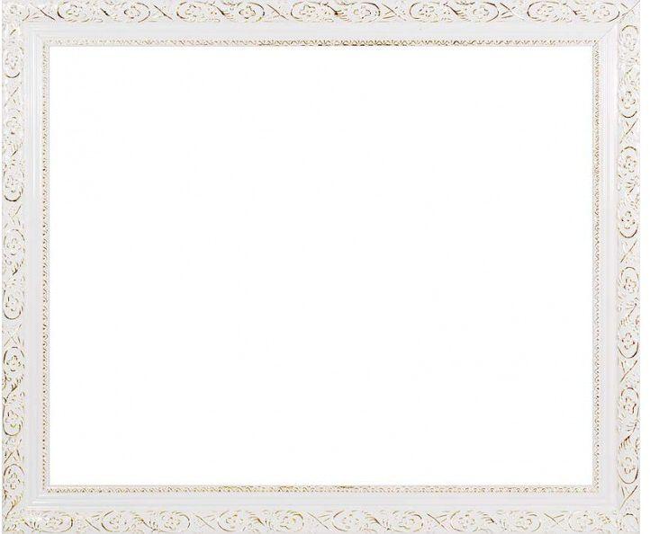 Рама багетная Белоснежка Antique, 30 х 40 см1625-BLБагетная рама Белоснежка Antique изготовлена из высококачественного дерева. Багетныерамы предназначены для оформления картин, вышивок и фотографий. Если вы используетераму для оформления живописи на холсте, следует учесть, что толщина подрамника большетолщины рамы и сзади будет выступать, рекомендуется дополнительно зафиксировать картинуклеем, лист-заглушку в этом случае не вставляют. В комплект входят рама, лист оргалита, наборкреплений и саморезов.