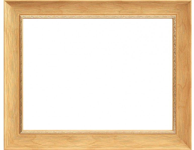 Рама багетная Белоснежка Agata, цвет: бежевый, 40 х 50 см рама багетная белоснежка regina цвет черный серебряный 40 х 50 см