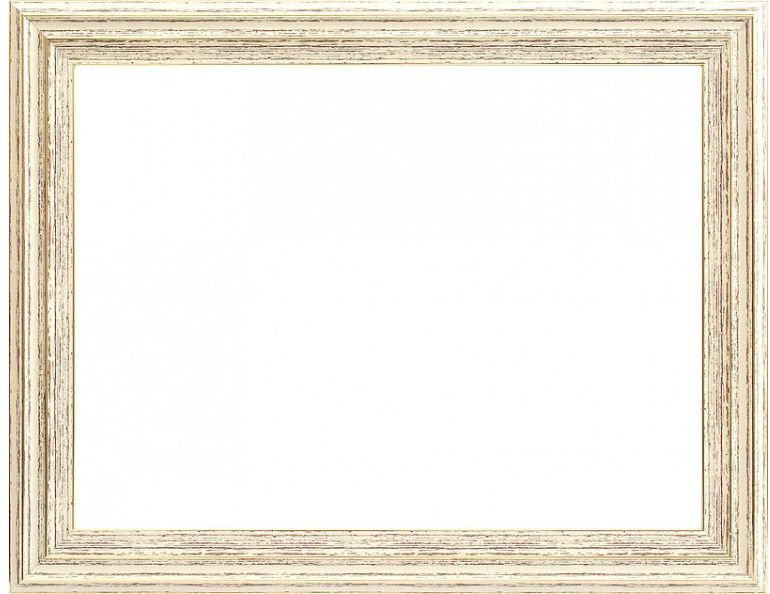 Рама багетная Белоснежка Valery, цвет: светло-бежевый, золотистый, 40 х 50 см рама багетная белоснежка regina цвет черный серебряный 40 х 50 см