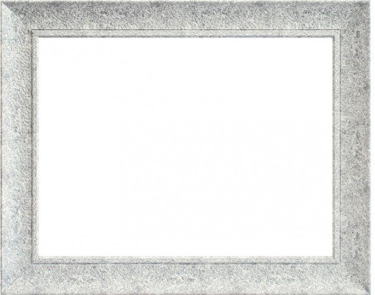 Рама багетная Белоснежка Ester, цвет: серый, 40 х 50 см рама багетная белоснежка regina цвет черный серебряный 40 х 50 см