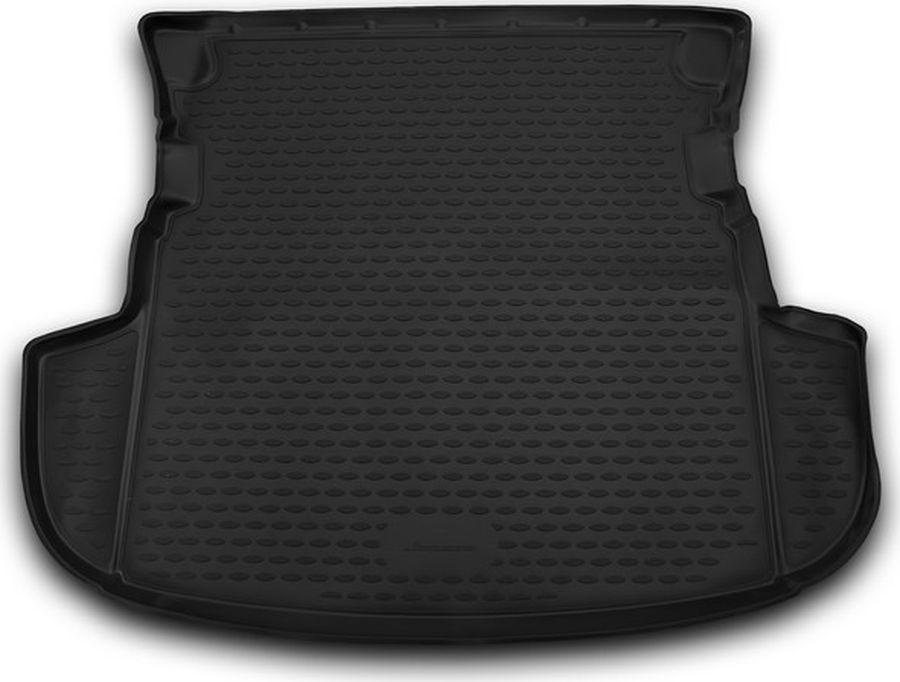 Коврик автомобильный Novline-Autofamily для Mitsubishi Outlander кроссовер 2012-2014, 2014-, в багажник, цвет: черныйNLC.35.29.B13Автомобильный коврик Novline-Autofamily, изготовленный из полиуретана, позволит вам без особых усилий содержать в чистоте багажный отсек вашего авто и при этом перевозить в нем абсолютно любые грузы. Этот модельный коврик идеально подойдет по размерам багажнику вашего автомобиля. Такой автомобильный коврик гарантированно защитит багажник от грязи, мусора и пыли, которые постоянно скапливаются в этом отсеке. А кроме того, поддон не пропускает влагу. Все это надолго убережет важную часть кузова от износа.Мыть коврик для багажника можно любыми чистящими средствами или просто водой. При этом много времени у вас уборка не отнимет, ведь полиуретан устойчив к загрязнениям.Если вам приходится перевозить в багажнике тяжелые грузы, за сохранность коврика можете не беспокоиться. Он сделан из прочного материала, который не деформируется при механических нагрузках и устойчив даже к экстремальным температурам. А кроме того, коврик для багажника надежно фиксируется и не сдвигается во время поездки, что является дополнительной гарантией сохранности вашего багажа.Коврик имеет форму и размеры, соответствующие модели данного автомобиля.