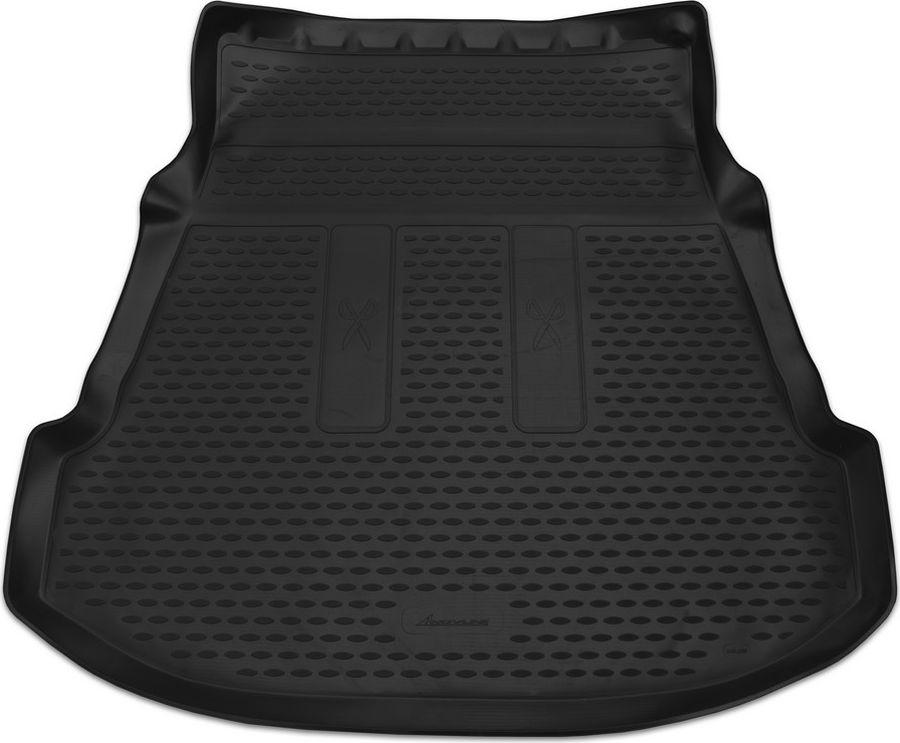 Коврик автомобильный Novline-Autofamily, для автомобиля TOYOTA Fortuner, 2012->, внед., 1 шт., цвет: черный, в багажникNLC.48.56.B13Качественный продукт, новый полимерный материал, антискользящий рельеф, идеальная подходимость, гигиенические сертификаты, экспортируются в западную Европу. Три цвета на выбор - серый, бежевый, черный.