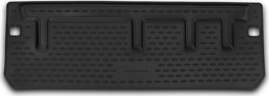 Коврик автомобильный Novline-Autofamily, для автомобиля TOYOTA Sienna, 2013->, 1шт., цвет: черный, в багажникNLC.48.69.B14Качественный продукт, новый полимерный материал, антискользящий рельеф, идеальная подходимость, гигиенические сертификаты, экспортируются в западную Европу. Три цвета на выбор - серый, бежевый, черный.