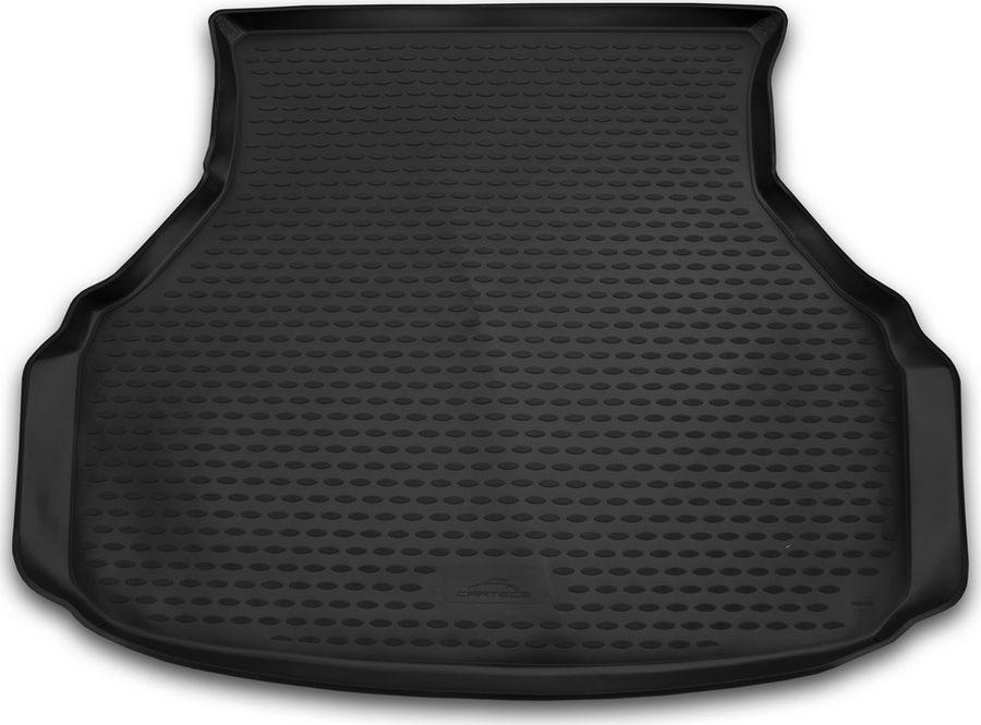 Коврик в багажник Novline-Autofamily, для Datsun on-do, 01/2014->, седан, цвет: черныйNLC.94.04.B10Качественный продукт, новый полимерный материал, антискользящий рельеф, идеальная форма, гигиенические сертификаты. Надежный коврик для вашего автомобиля.