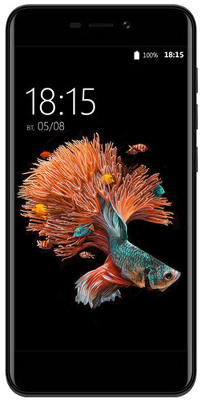 BQ 5037 Strike Power 4G, Black