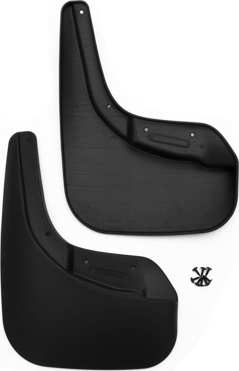 Комплект брызговиков передних Novline-Autofamily для Volkswagen Touareg внедорожник, 2015-, 2 штNLF.51.36.F13Комплект Novline-Autofamily состоит из 2 передних брызговиков, изготовленных из высококачественного полиуретана. Изделия эффективно защищают кузов автомобиля от грязи и воды, формируют аэродинамический поток воздуха, создаваемый при движении вокруг кузова таким образом, чтобы максимально уменьшить образование грязевой измороси, оседающей на автомобиле. Разработаны индивидуально для каждой модели автомобиля. С эстетической точки зрения брызговики являются завершением колесных арок.