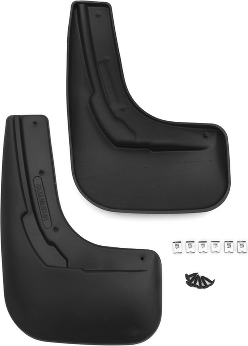 Комплект брызговиков задних Novline-Autofamily для Volkswagen Polo, 2015-, седан, 2 шт.NLF.51.37.E10Брызговики служат для защиты нижней части кузова от воды, грязи, камней, песка во время движения автомобиля. С эстетической точки зрения брызговики являются завершением колесной арки, они подчеркивают красоту и изящество форм автомобиля. Основные требования, которым должны соответствовать брызговики – гибкость и прочность. Изделия, производимые на основе пластика (полиуретановые брызговики), обладают высоким показателям прочности, экологичности, а так же, устойчивосттю к температурным колебаниям.