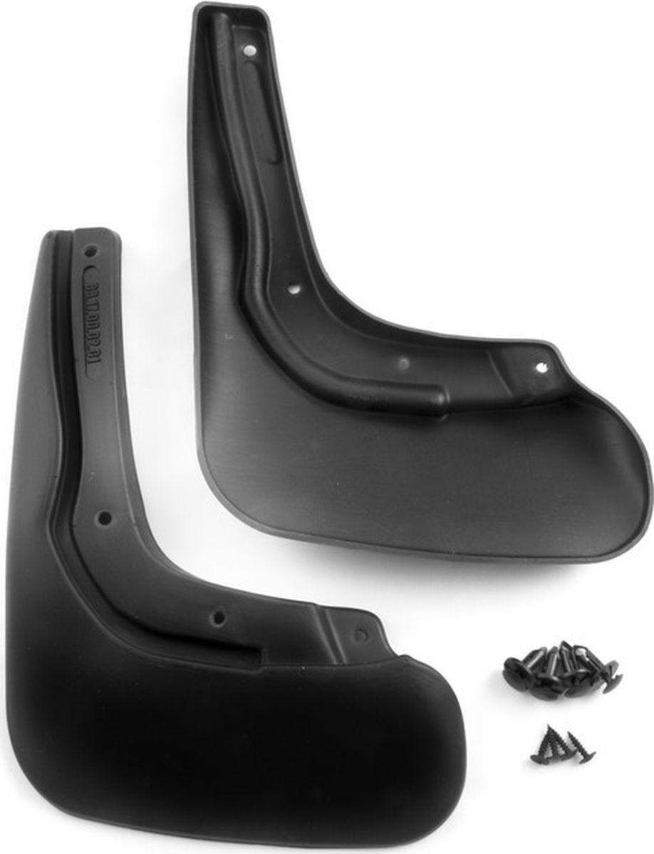 Комплект брызговиков задних Novline-Autofamily для Chery Tiggo T21 внедорожник, 2014-, 2 штNLF.63.17.E13Комплект Novline-Autofamily состоит из 2 задних брызговиков, изготовленных из высококачественного полиуретана. Изделия эффективно защищают кузов автомобиля от грязи и воды, формируют аэродинамический поток воздуха, создаваемый при движении вокруг кузова таким образом, чтобы максимально уменьшить образование грязевой измороси, оседающей на автомобиле. Разработаны индивидуально для каждой модели автомобиля. С эстетической точки зрения брызговики являются завершением колесных арок.