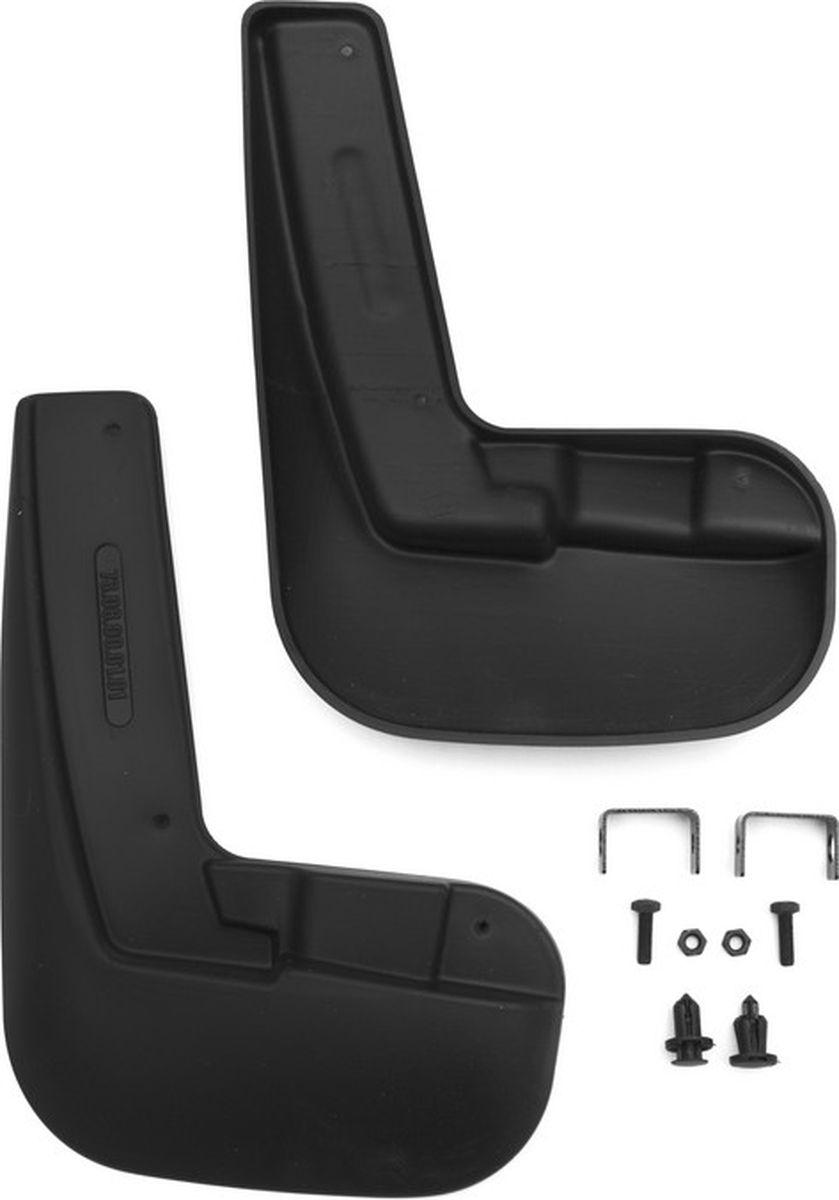 Комплект брызговиков передних  Novline-Autofamily  для Lifan X50 кроссовер, 2006, 2015-, 2 шт - Тюнинг и защита - Брызговики