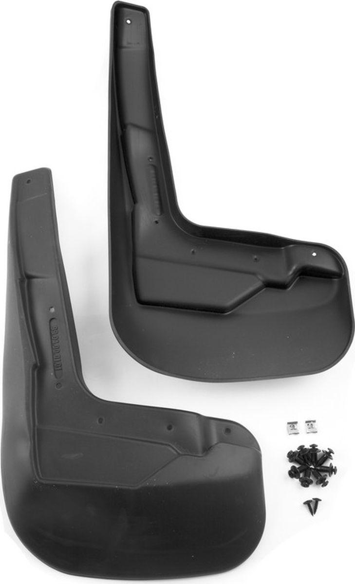 Комплект брызговиков передних Novline-Autofamily для Haval H8 кроссовер, 2015-, 2 штNLF.99.04.F13Комплект Novline-Autofamily состоит из 2 передних брызговиков, изготовленных из высококачественного полиуретана. Изделия эффективно защищают кузов автомобиля от грязи и воды, формируют аэродинамический поток воздуха, создаваемый при движении вокруг кузова таким образом, чтобы максимально уменьшить образование грязевой измороси, оседающей на автомобиле. Разработаны индивидуально для каждой модели автомобиля. С эстетической точки зрения брызговики являются завершением колесных арок.