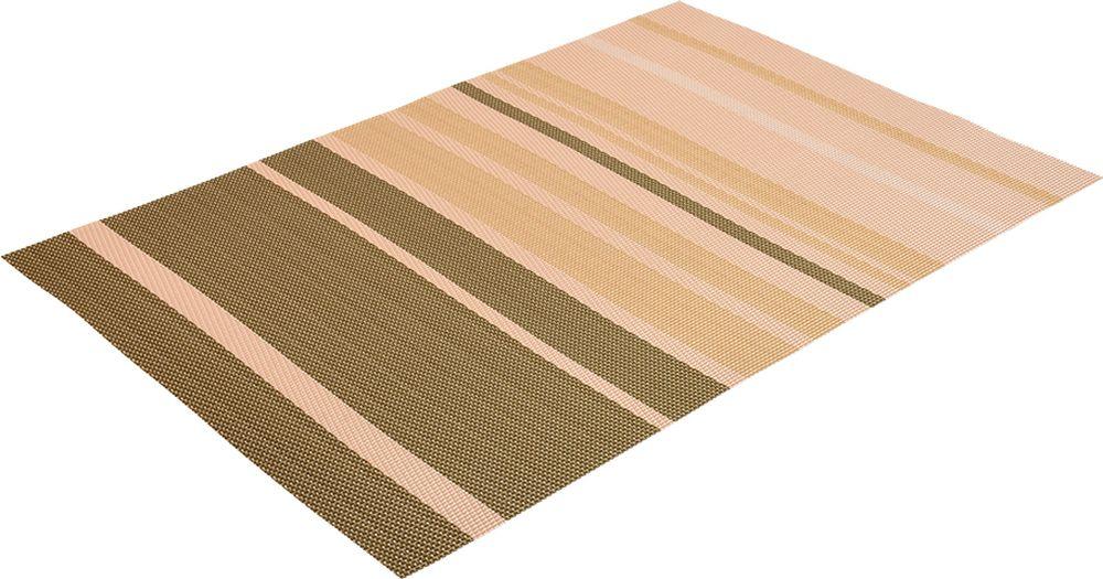 """Салфетка """"Marmiton"""" предназначена для сервирования стола и украшение интерьера. Салфетка выполнена из ПВХ. Такие изделия легко моются и удобны в хранении, имеют стильный и красивый дизайн. Изготовлены из современного, высокотехнологичного материала, обладающего рядом уникальных свойств: высокая прочность, эластичность, большая износостойкость, высокая термостойкость и устойчивость к ультрафиолетовым лучам.  Меры предосторожности: температурный режим использования до 90 """"С. Не подвергать прямому воздействию огня!"""