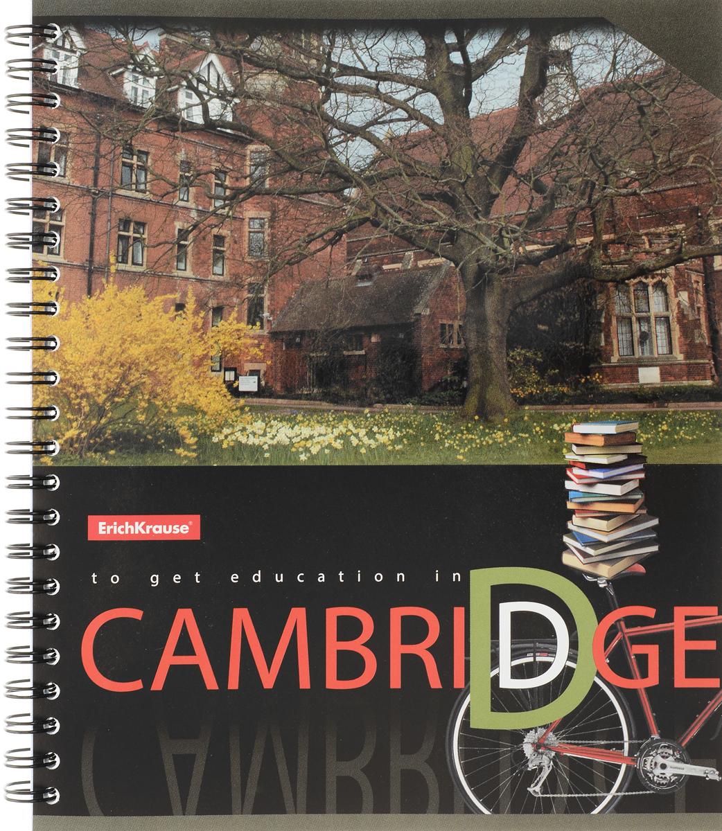 Erich Krause Тетрадь Cambridge 80 листов в клетку measure for measure the cambridge dover wilson shakespeare cambridge library collection literary studies