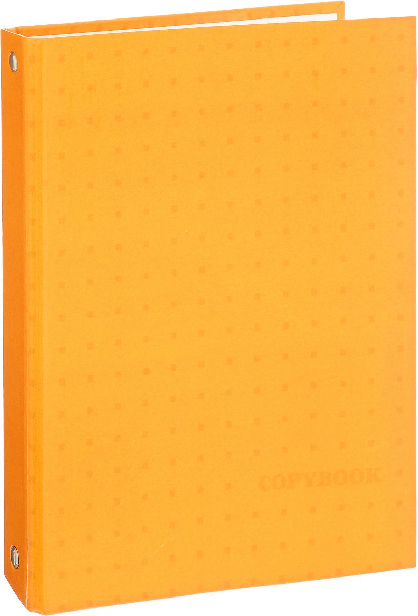 Фото Феникс+ Тетрадь на кольцах Желтый узор 160 листов в клетку