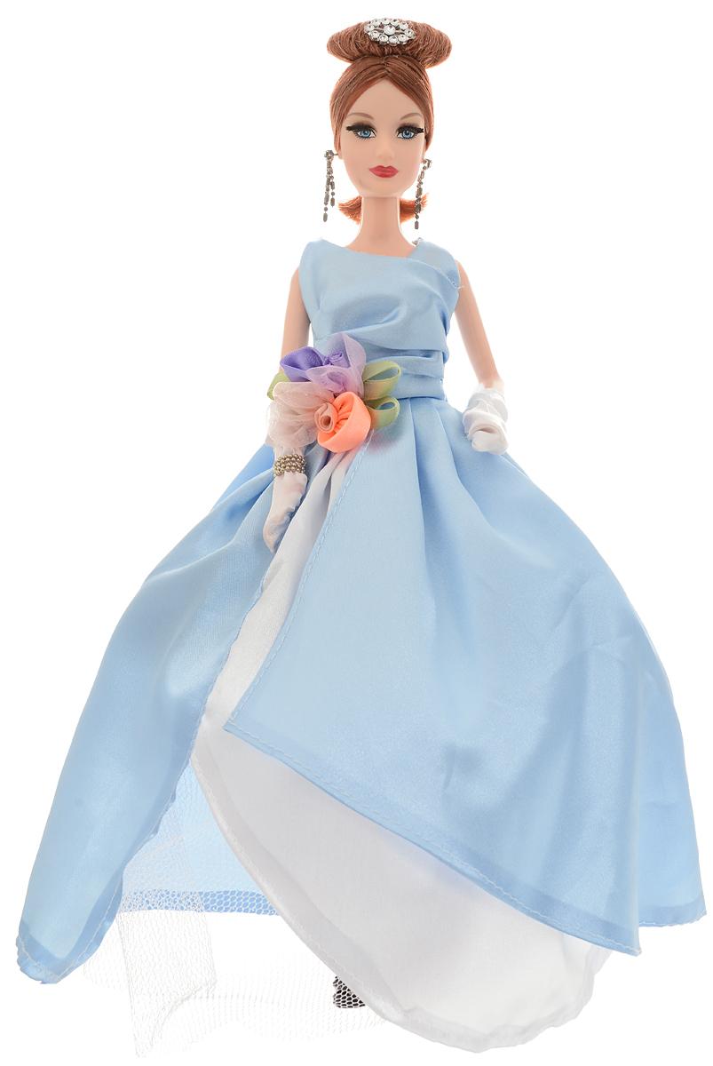 ABtoys Кукла Весенний вальс цвет бального платья голубой белый abtoys кукла зимняя фея сноусторм