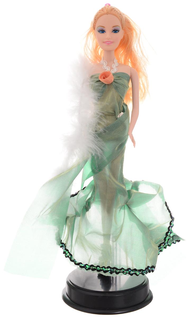 ABtoys Кукла Весенний вальс Волшебный мир цвет платья зеленый abtoys кукла зимняя фея сноусторм