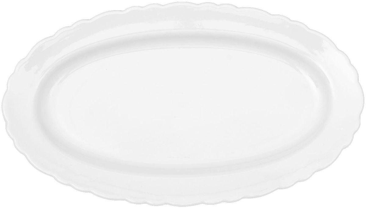Тарелка Turon Porcelain Классика, 30 х 17 см1625432Узбекская посуда известна всему миру уже более тысячи лет. Ей любовались царские особы, на ней подавали еду шейхам и знатным персонам. Формула глазури передаётся из поколения в поколение. По сей день качественные изделия продолжают восхищать своей идеальной формой.Данный предмет подойдёт для повседневной и праздничной сервировки. Дополните стол текстилем и салфетками в тон, чтобы получить элегантное убранство с яркими акцентами.