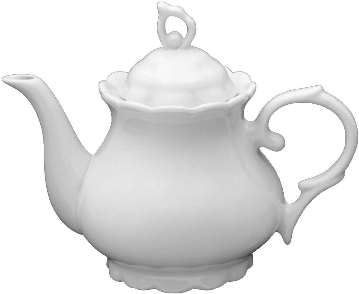 Чайник заварочный Turon Porcelain Классика, 800 мл1625440Узбекская посуда известна всему миру уже более тысячи лет. Ей любовались царские особы, на ней подавали еду шейхам и знатным персонам. Формула глазури передаётся из поколения в поколение. По сей день качественные изделия продолжают восхищать своей идеальной формой.Данный предмет подойдёт для повседневной и праздничной сервировки. Дополните стол текстилем и салфетками в тон, чтобы получить элегантное убранство с яркими акцентами.