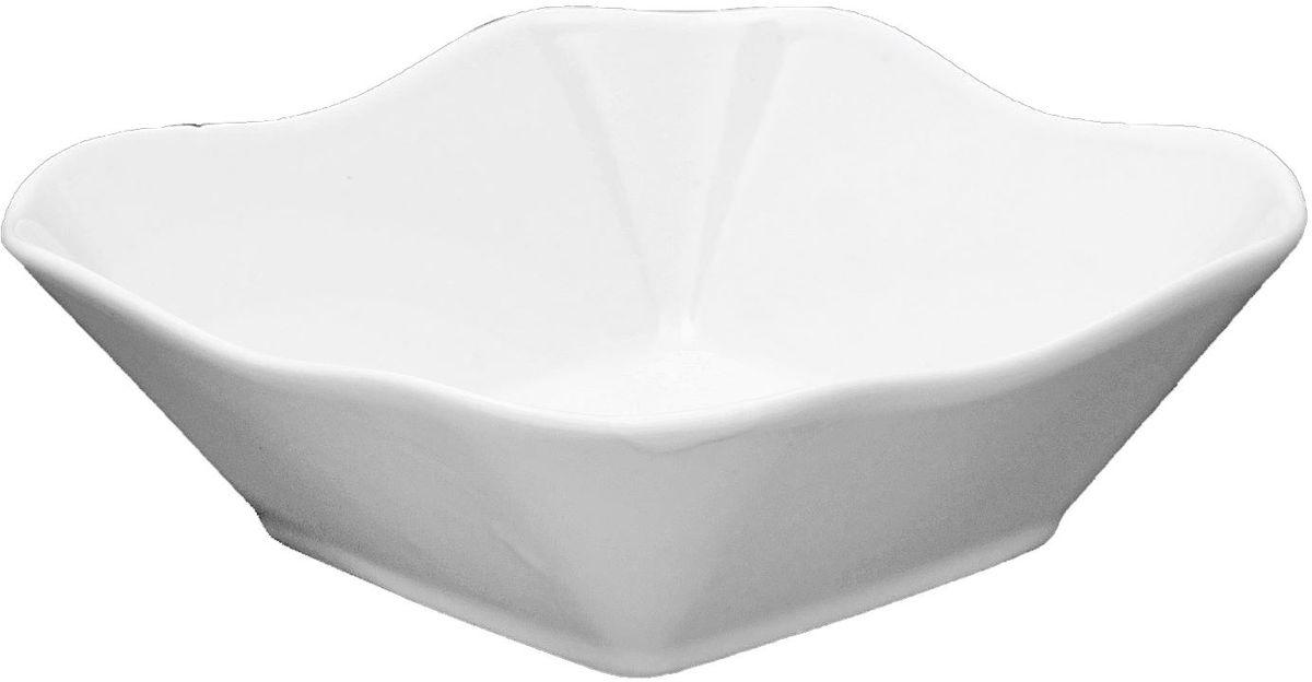 Салатник Turon Porcelain Классика, 14 х 14 см1625442Салатник Turon Porcelain Классика выполнен из высококачественного фарфора. Узбекская посуда известна всему миру уже более тысячи лет. Ей любовались царские особы, на ней подавали еду шейхам и знатным персонам. Формула глазури передается из поколения в поколение. По сей день качественные изделия продолжают восхищать своей идеальной формой.Данный предмет подойдет для повседневной и праздничной сервировки. Дополните стол текстилем и салфетками в тон, чтобы получить элегантное убранство с яркими акцентами.