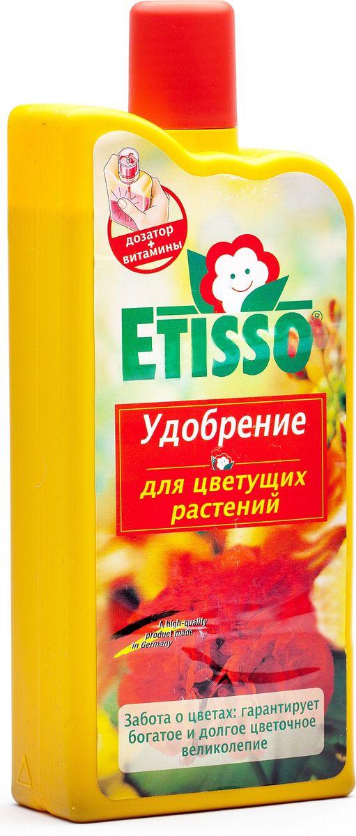 """Жидкое удобрение """"Etisso"""" - предназначено для цветущих растений, содержит специальный комплекс веществ в легко усвояемой и идеальносбалансированной форме, необходимых для полноценного питания растений во время цветения. Это комплексное концентрированное удобрениеускоряет начало цветения, стимулирует образование многочисленных бутонов, способствует обильному пышному и долгому росту ваших растений.Обеспечивает насыщенную окраску цветов.Состав:3,8% - азот суммарно,7,6% - Р2О5 фосфат водорастворимый,7,5% - К2О оксид калия водорастворимый,0,02% - медь + микроэлементы (магний, железо, марганец, цинк) и витамин В1."""
