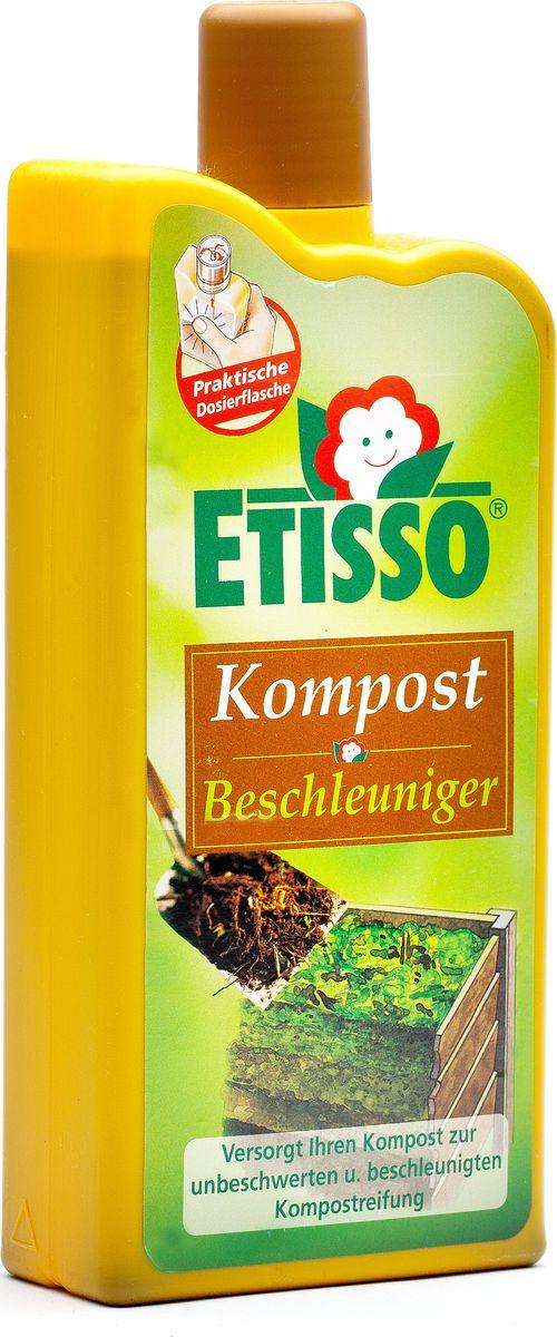 Компост жидкий Etisso, 1 л1246-859Натуральное средство Etisso для компостированию любых растительных остатков, таких как трава, листья, ветки. Полноценный компост значительно улучшает структуру и качество почвы в саду и на огороде и одновременно подкармливает растения натуральными полезными веществами. Препарат содержит в своем составе полноценные натуральные питательные вещества для микроорганизмов и других обитателей почвы. Средство позволяет им быстро размножиться и ускоряет натуральный процесс образования качественного компоста. Рекомендовано для использования в течение целого сезона.
