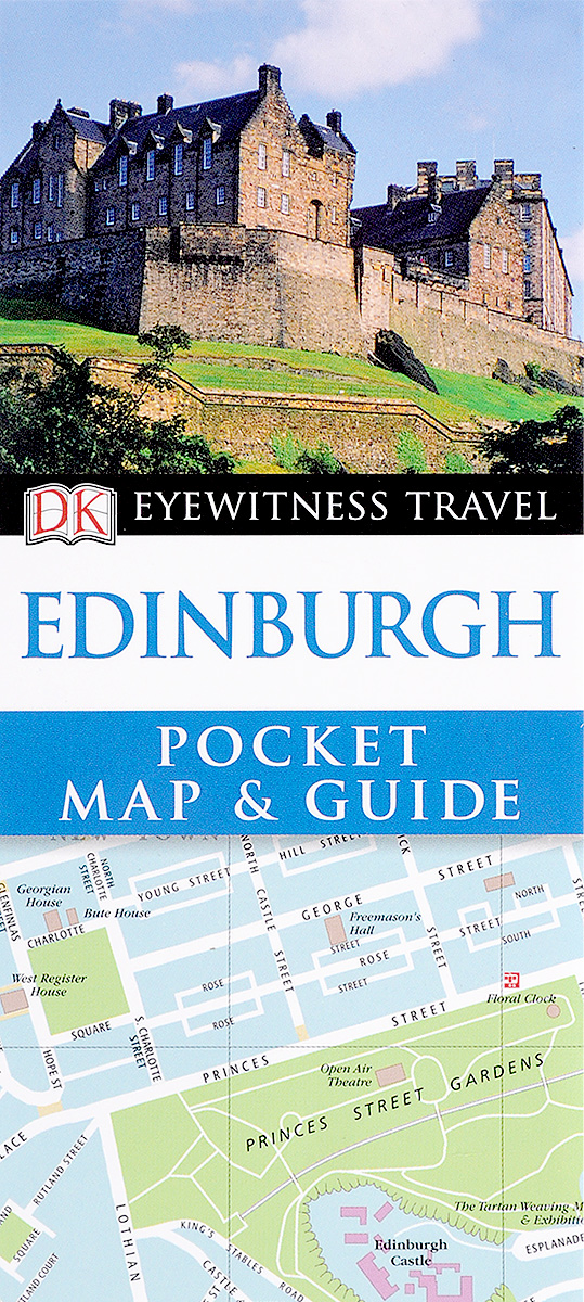 Edinburgh: Pocket Map and Guide bird isabella lucy notes on old edinburgh