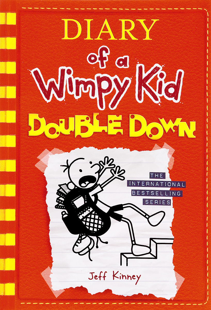 Diary of a Wimpy Kid 11: Double Down 30pcs in one postcard take a walk on the go dubai arab emirates christmas postcards greeting birthday message cards 10 2x14 2cm