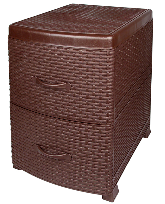 Универсальный комод-тумба с 2 выдвижными ящиками. Выполнен из экологически чистого пластика. Идеально подходит для хранения игрушек и других хозяйственных предметов. Может использовать в качестве прикроватной тумбы.Поставляется в разобранном виде.