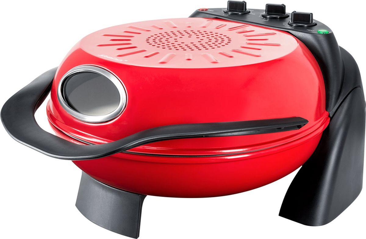 Steba PB 1, Red пицца мейкерPB 1Steba PB 1 идеально подходит для выпечки пиццы или тарт фламбе.Прибор имеет 3 режима нагрева: верхний нагрев, нижний нагрев, верхний и нижний нагрев.Регулировка температуры до 250°C. Вращающаяся панель. Таймер 30 мин. Теплоизолированная ручка. Контрольная лампа. Стеклянное окошко.
