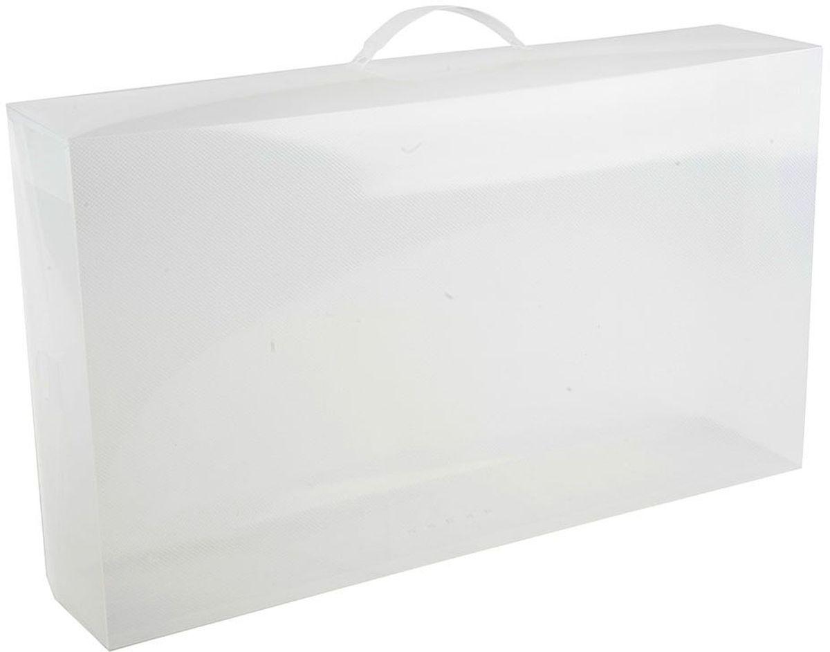"Фото Набор коробов для хранения ""Handy Home"", 52 х 30 х 11,5 см, цвет: белый, 2 шт"