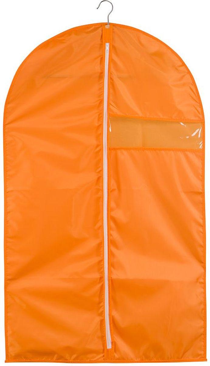 Чехол для одежды Handy Home Апельсин, 60 х 100 смUC-32Чехол Handy Home Апельсин предназначен для хранения и перевозки одежды. Изготовлен из полиэстера , который препятствует попаданию пыли, влаги, запахов и грязи.