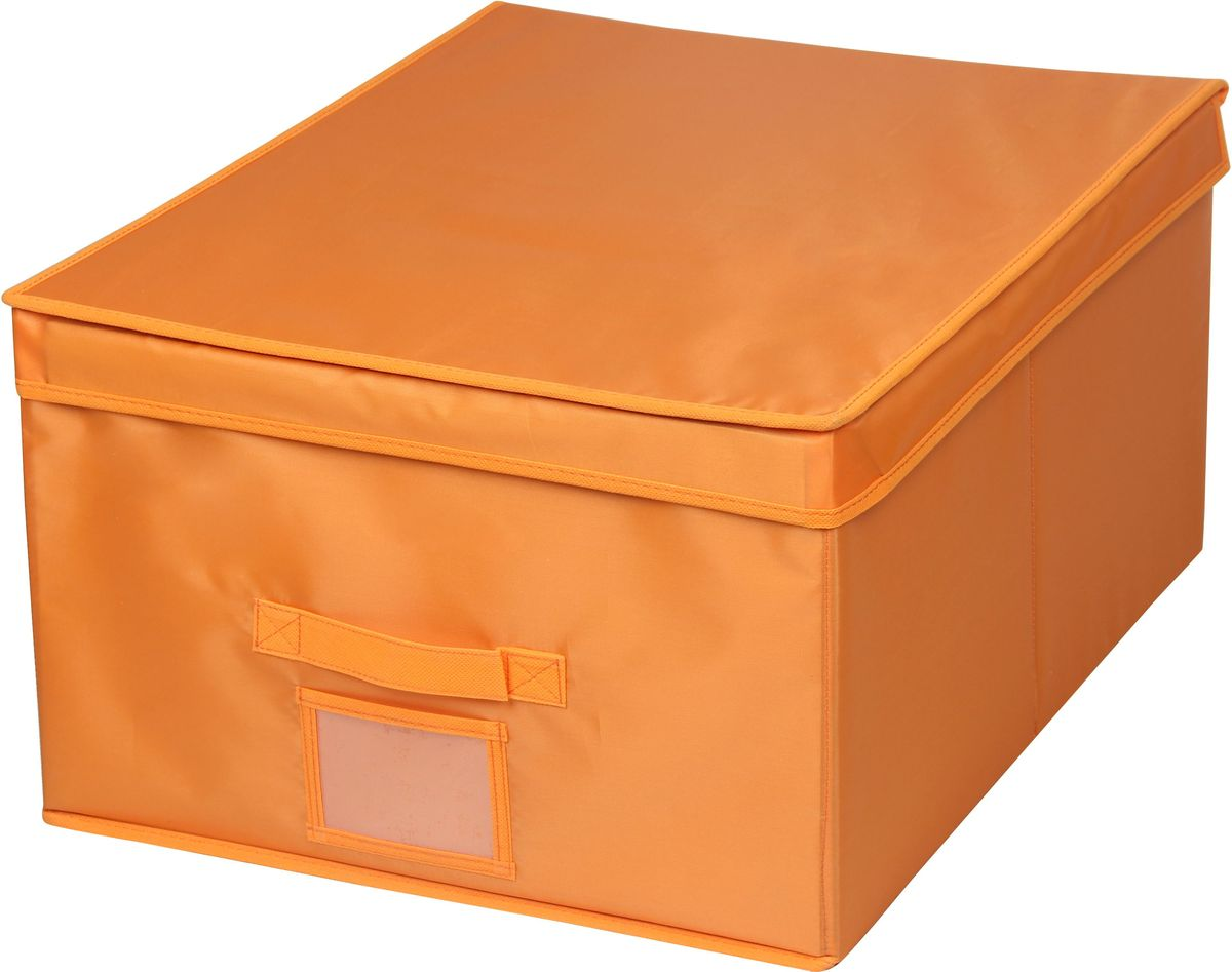 Кофр для хранения Handy Home Апельсин, 30 х 40 х 25 смUC-40Кофр для хранения Handy Home - прямоугольный складной с крышкой. Занимает минимум места в сложенном виде. Естественная вентиляция: материал позволяет воздуху свободно проникать внутрь, не пропуская пыль. Подходит для хранения одежды, обуви, мелких предметов, документов и многого другого.