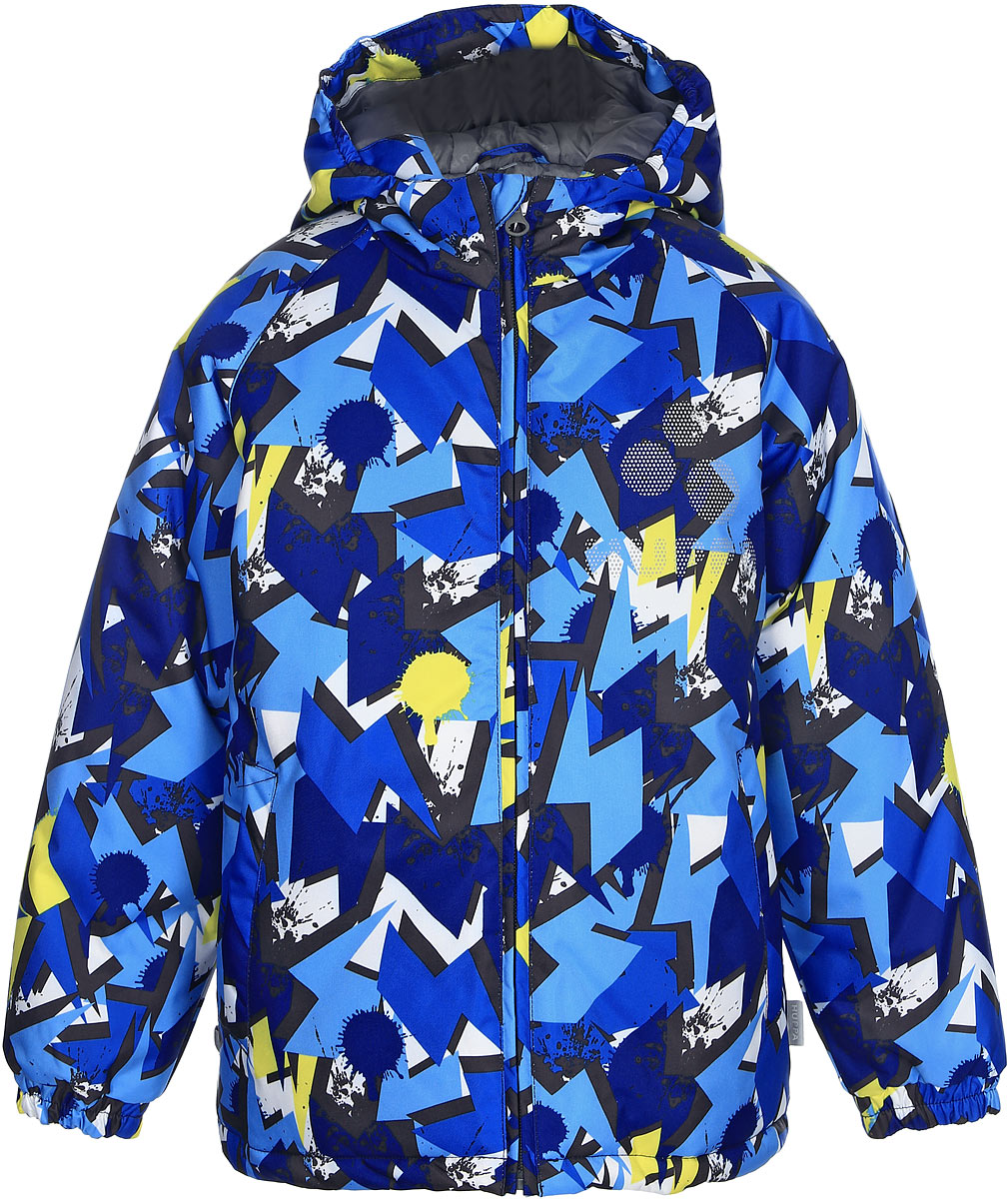 Куртка для мальчика Huppa Classy, цвет: темно-синий. 17710030-63486. Размер 15217710030-63486Куртка для мальчика Huppa выполнена из высококачественноговодонепроницаемого и ветрозащитного материала на основе полиэстера. Куртка c длиннымирукавами, воротником-стойкой и несъемным капюшоном. Модельзастегивается на застежку-молнию с защитой подбородка спереди. Изделиеимеет два прорезных кармана без застежек. Манжеты рукавов собранына внутренние резинки. На изделии имеются светоотражательные элементы длябезопасности в темное время суток.