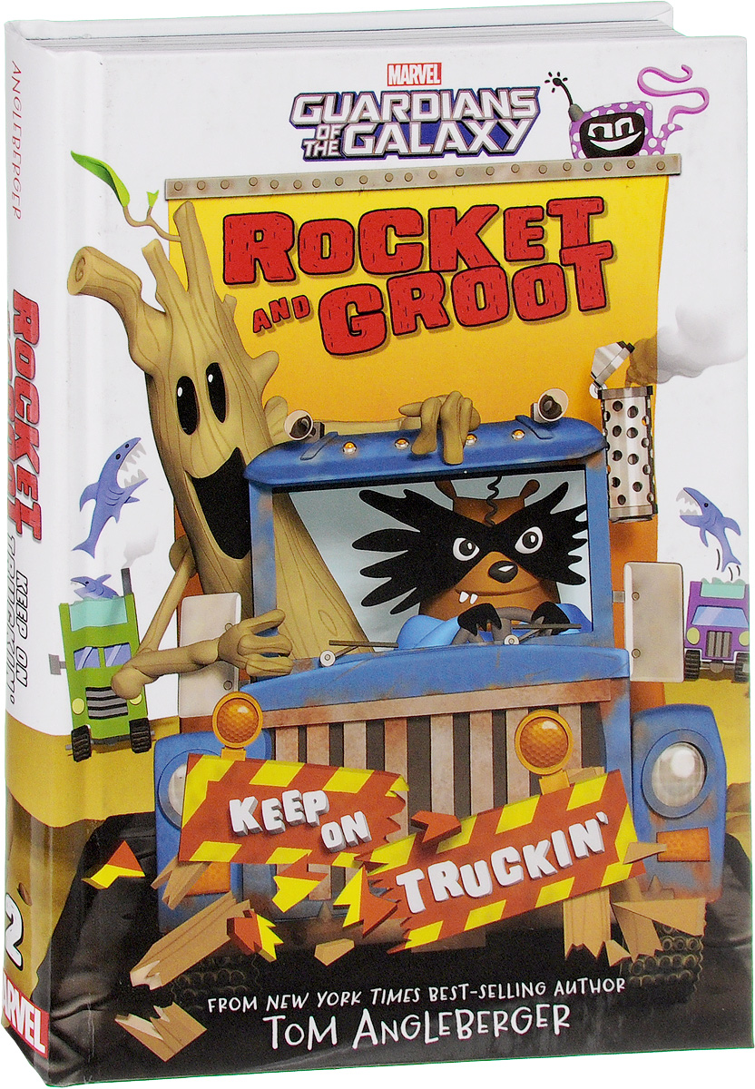 Rocket and Groot: Keep On Truckin' seeing things as they are