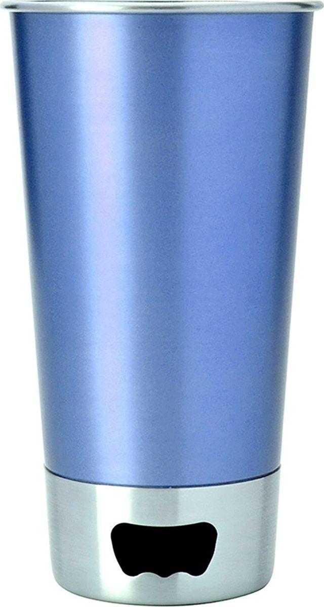 Стакан Asobu  Brew cup opener , цвет: голубой, 550 мл - Туристическая посуда