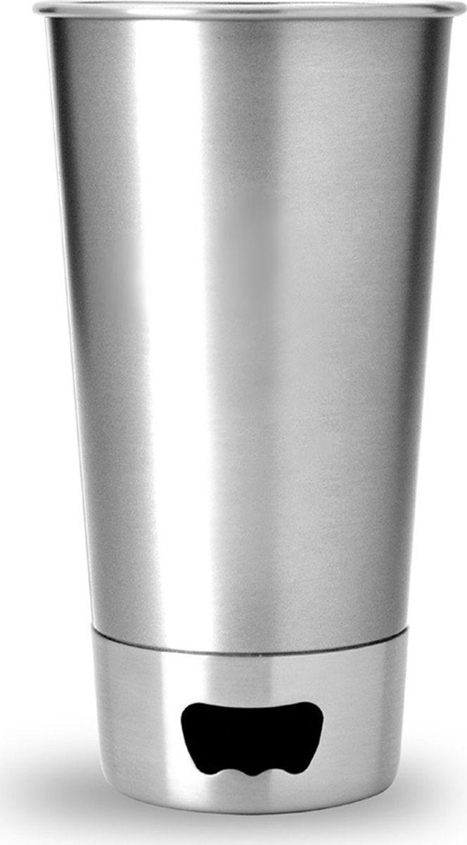 Стакан Asobu Brew cup opener, цвет: стальной, 550 млBO1 silverКружка Asobu Brew cup opener - самый популярный пивной бокал в мире! Инновационный дизайн: стальной стакан с двумя видами открывалок в основании. Открывайте, как Вам удобно. Asobu Brew cup opener будет любимцем в Вашей коллекции пивных бокалов. Идеален для использования на открытом воздухе! Особенности: 550 мл.Основание с двумя видами открывалок.Нержавеющая сталь.Можно мыть в посудомоечной машине.