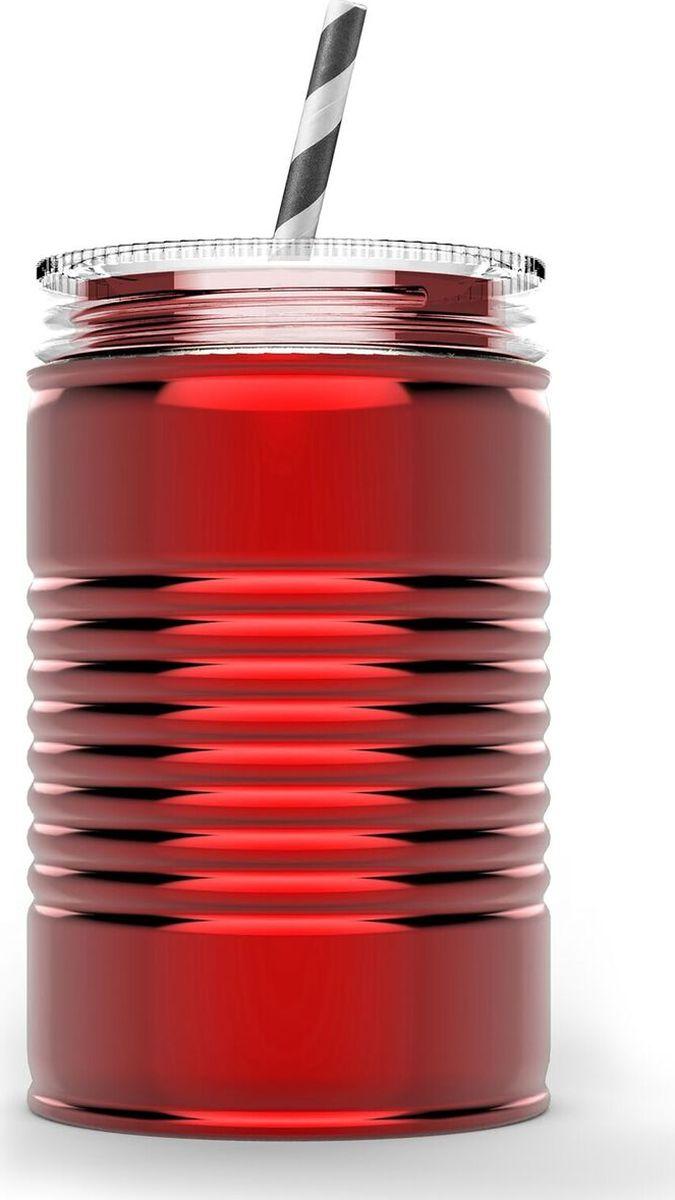 Кружка Asobu I can, цвет: красный, 540 млIC1 redКружка Asobu I can - отличный вариант для тех, кто любит разнообразие. Предлагаем отойти от традиционных кофейных кружек и взглянуть совершенно по-новому на свой любимый напиток со стальной кружкой-банкой Asobu I can. Asobu I can выполнена из нержавеющей стали. Двойные стенки сохранят Ваш напиток горячим чуть дольше и, к тому же, не позволят Вам обжечься. Кружка идеально подходит для использования дома, в офисе или на заднем дворе. Asobu I can полностью экологически чистый продукт и подходит для вторичной переработки. Особенности: Многоразовая соломинка в комплекте.Нержавеющая сталь, двойные стенки.Утилизируется, экологически чистый материал.100% BPA FREE.Можно мыть в посудомоечной машине.540 мл.