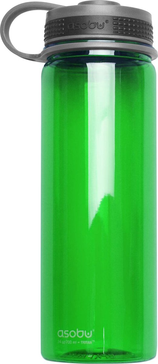 Бутылка Asobu Pinnacle sport bottle, цвет: зеленый, 720 млTWB10 greenБутылка Asobu Pinnacle sport bottle создана для активного и спортивного образа жизни. Идеальна для пешего туризма, кемпинга, езде на велосипеде и других видов активного отдыха. Pinnacle Sports Bottle изготовлена из почти неубиваемого и очень легкого материала нового поколения Tritan, который не содержит Бисфенол А. Легкий доступ, бутылку можно держать и открывать одной рукой, широкое горло идеально подходит для добавления кубиков льда, а кольцо на крышке делает переноску гораздо удобнее.Итак, заполните Pinnacle Sports Bottle водой, плотно закройте крышку, и ваша бутылка для спорта готова помочь достичь Вам новых целей!Особенности:Asobu Pinnacle Bottle не содержит Бисфенол А (BPA FREE).Объем 720 мл.Материал Tritan практически не поддается разрушению и делает бутылку идеальной для кемпинга, пеших прогулок или любого активного отдыха.Широкое горло обеспечивает легкий доступ к воде и идеально для добавления кубиков льда.Плотная крышка с петлей для переноски.Материал: ПластикВысота : 21,7 смДиаметр : 7,5 см